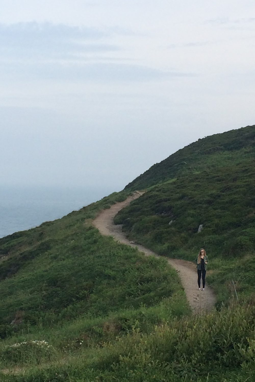 On the Path in Howth Ireland