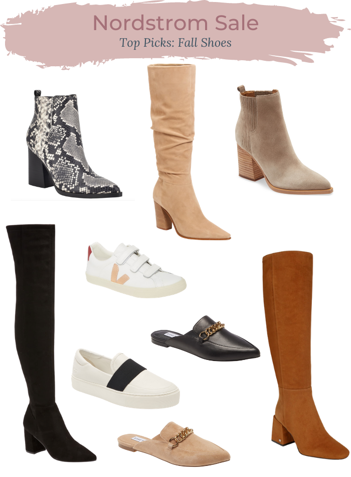 Nordstrom Anniversary Sale Fall Shoes Picks