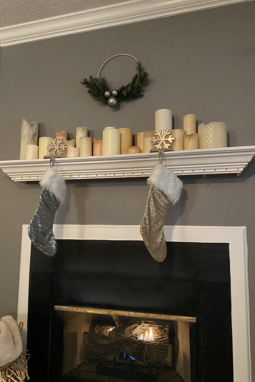 Christmas Mantle Decorations